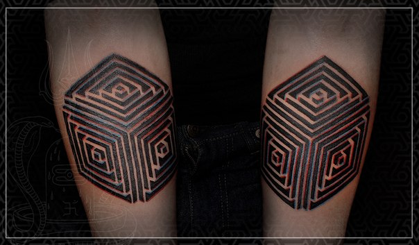 Художественная тату, орнаментальная тату, стерео тату, эксклюзивное тату, тату  кубы, artist tattoo, ornamental tattoo, exclusive tattoo, tattoo cubs