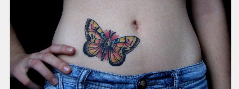 Бабочка в татуировках — значение, виды тату с бабочками