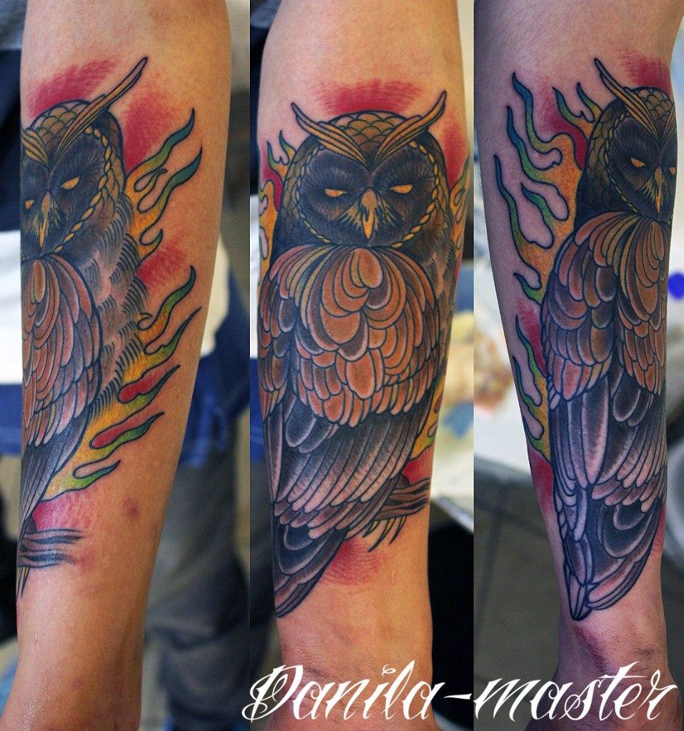 Художественная татуировка.Данила-мастер.