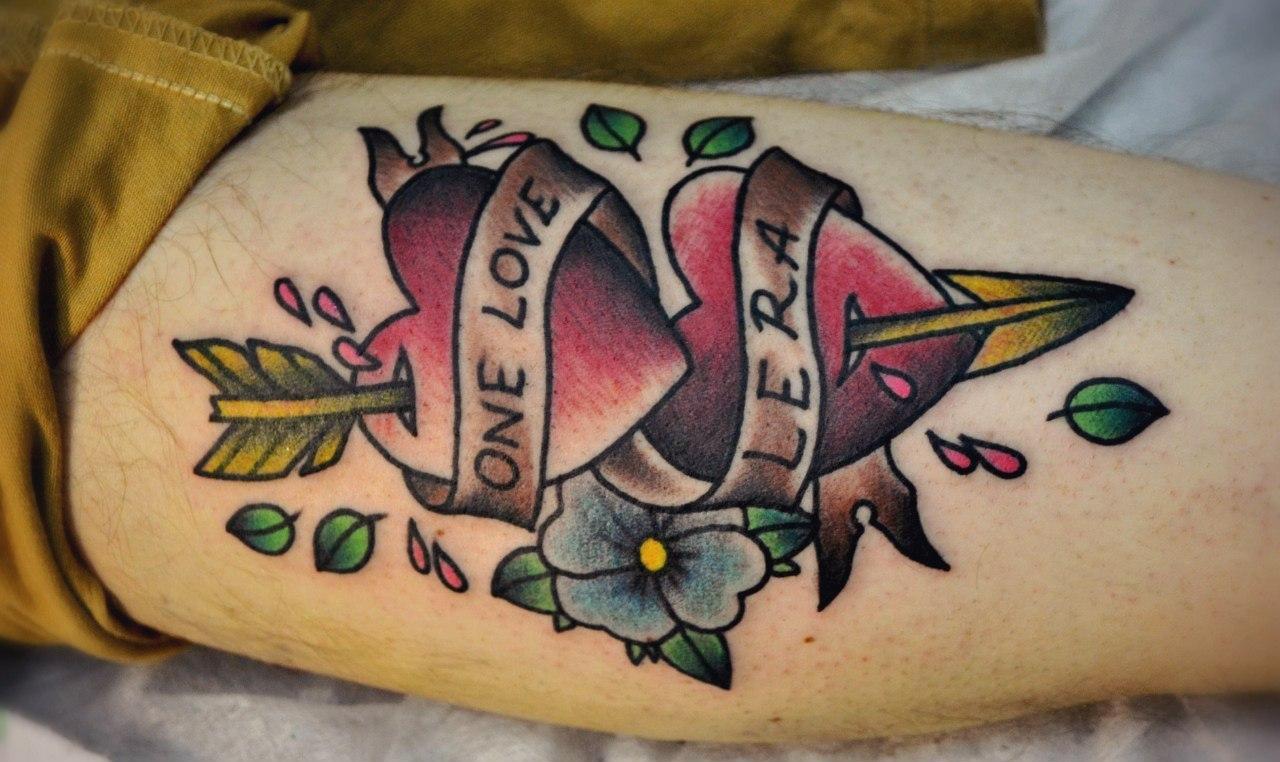 "Татуировка "" СЕРДЦА"". Мастер Виолетта Доморад."