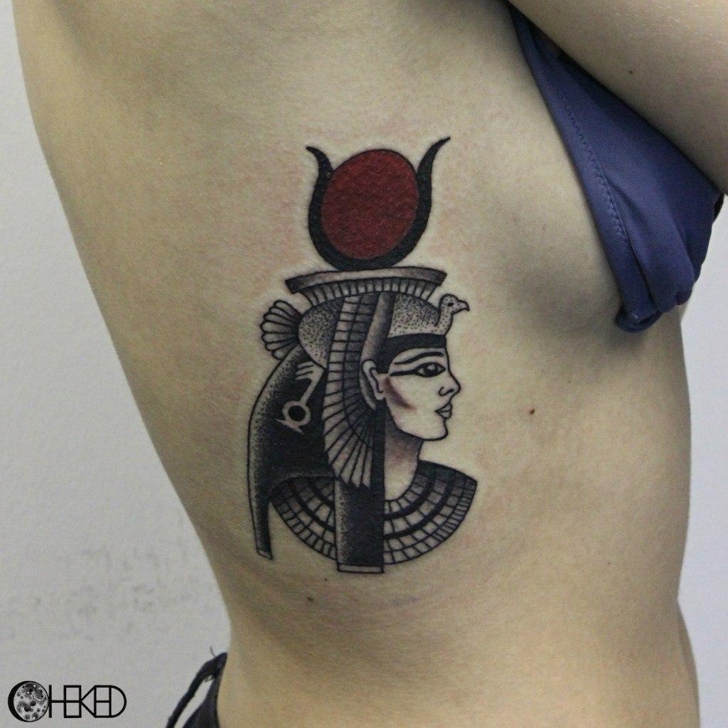 """Художественная татуировка """"Хаткор"""". Мастер Алиса Чекед."""