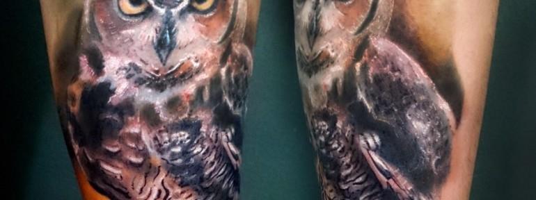 Значение татуировок с изображением совы — что может означать знак совы в тату?