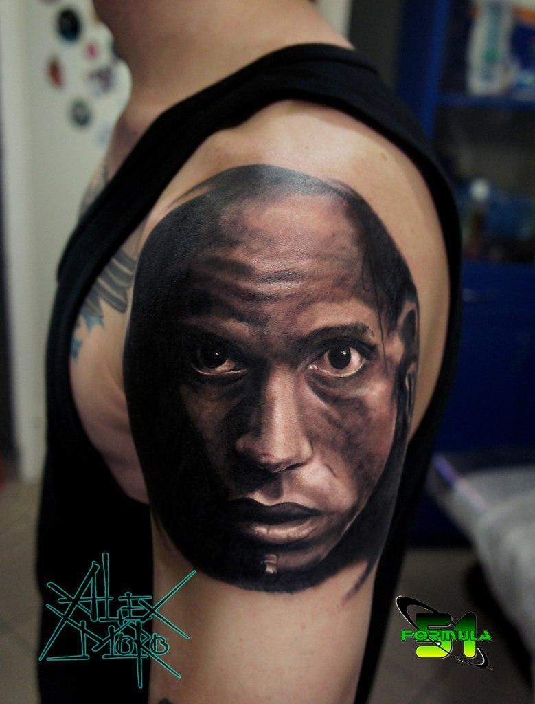 """Художественная татуировка """"Апокалипсис"""" от Александра Морозова"""