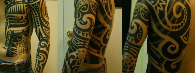 Полинезийские татуировки — тату народов мира