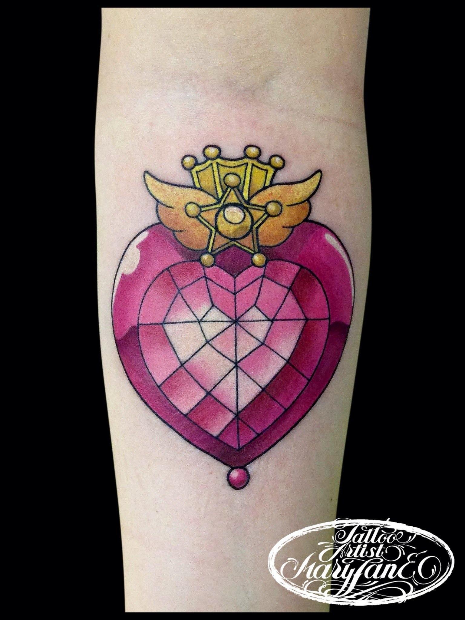 """Художественная татуировка """"Лунная призма"""". Мастер Мадина Mary Jane ."""