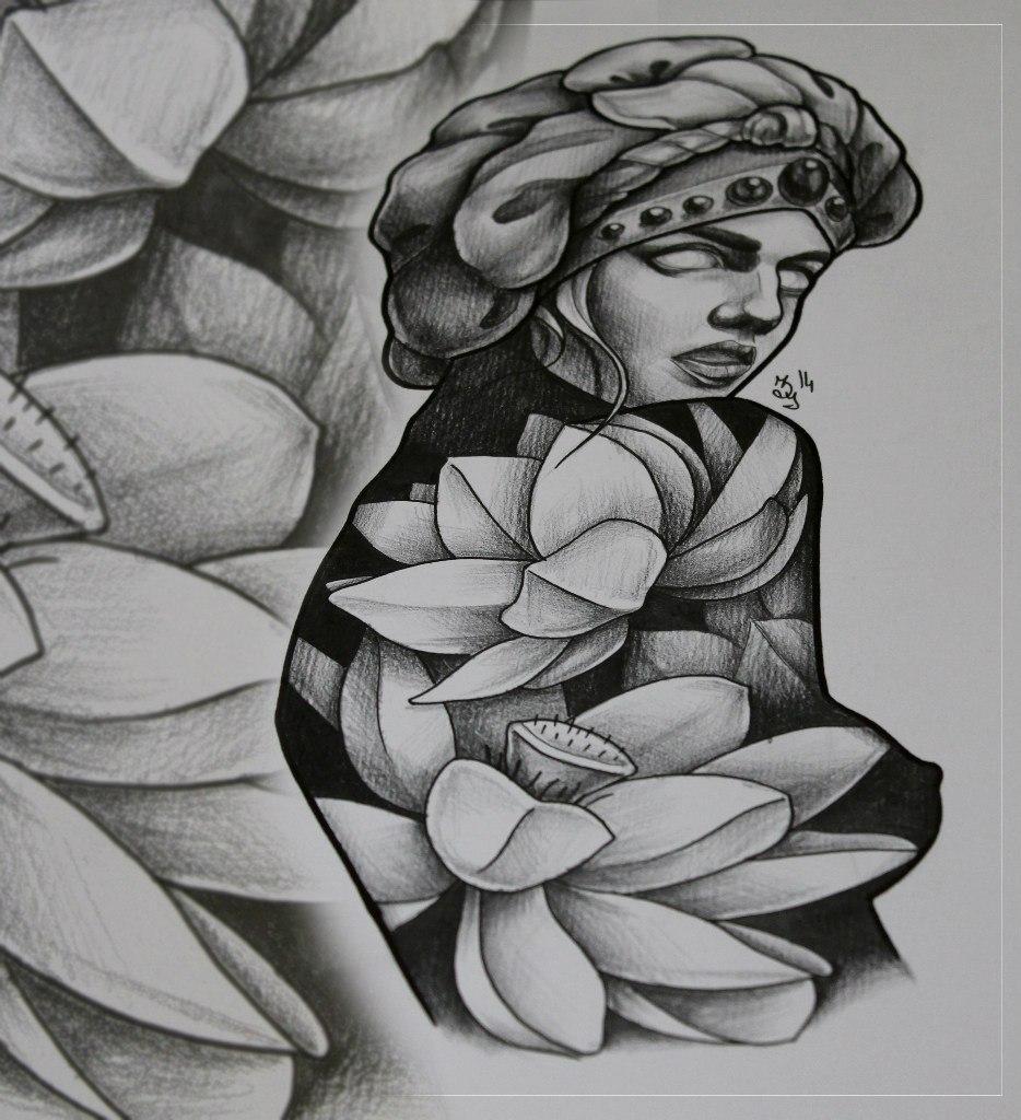 Свободный эскиз от Марии Скляр. Налетайте :)