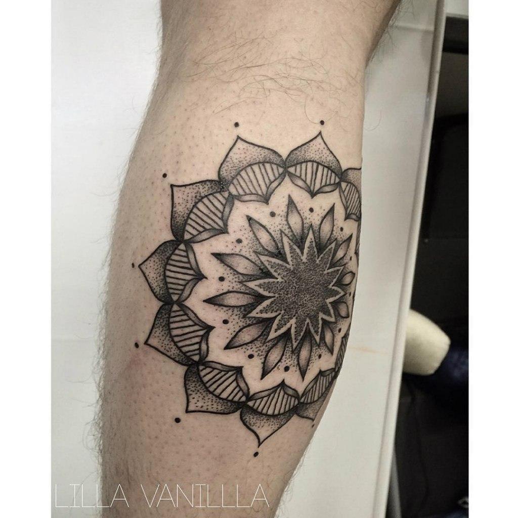 """Художественная татуировка """"Мандала"""". Мастер- Лилия"""