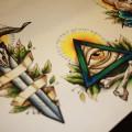 Художественная татуировка Глаз