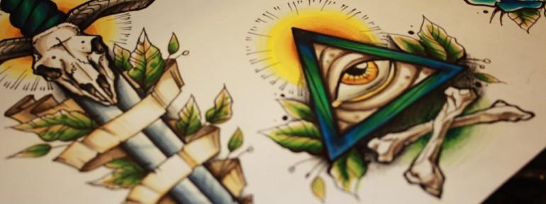 Что означает татуировка глаз или око, и кому подойдет тату с глазом?