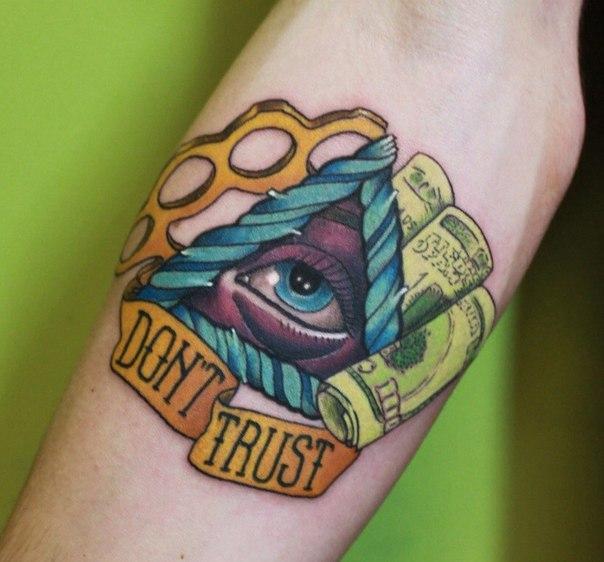 Художественная татуировка от Димы Поликарпова