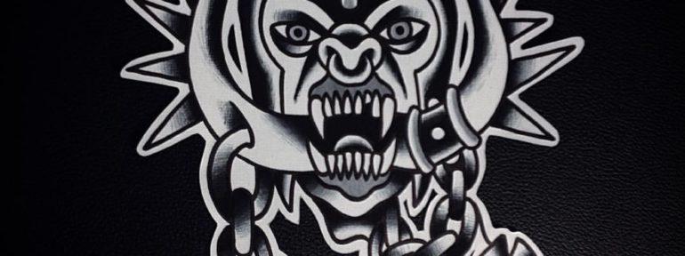 Свободный эскиз «Motörhead». Мастер- Александр Бахаревич.