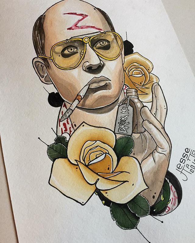 Свободный эскиз. Мастер Руслан Тавакалов.
