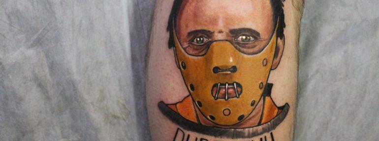 Художественная татуировка «Ганнибал». Мастер Дима Поликарпов