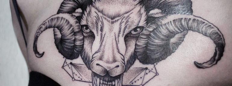 Художественная татуировка от Ксении Смирновой