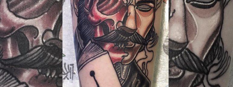 Художественная татуировка «Бес». Мастер Руслан Тавакалов