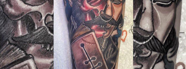 Художественная татуировка. Мастер Руслан Тавакалов