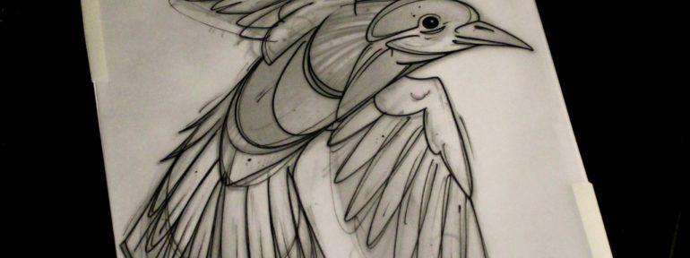 Свободный эскиз от Саши Новика